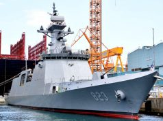 FFX II Daegu-class frigate Daejeon (FFG-823)