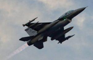 ROCAF F-16V with AMRAAM missile