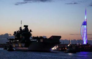 HMS Queen Elizabeth maiden deployment