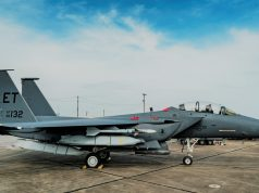 Strike Eagle with five JASSMs