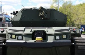 Ripsaw robot tank