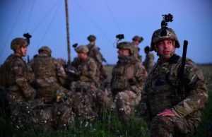 US soldiers in Bulgaria during exercise Swift Response