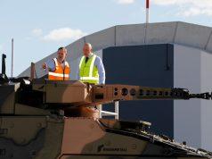 Australian Army Boxer CRV delivery