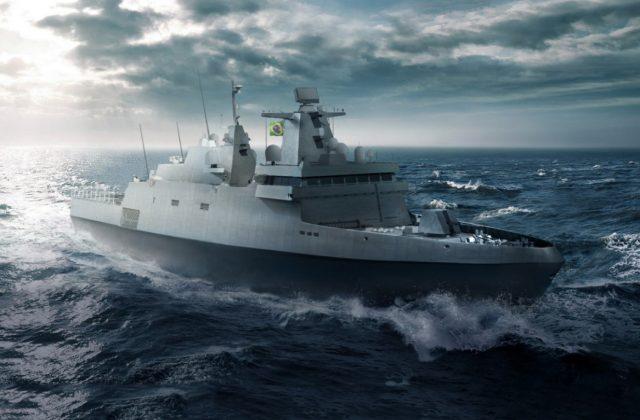 Tamandaré-class frigate design