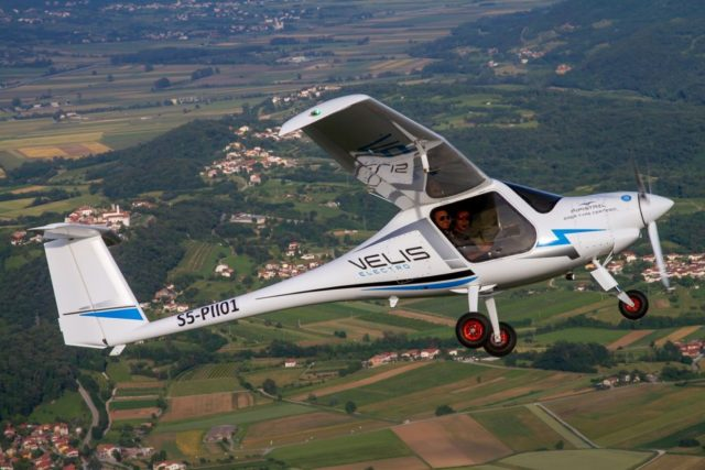 Velis Electro two-seater electric aircraft