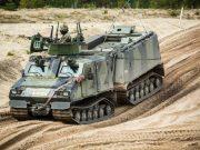 BvS10 Viking vehicle