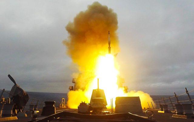 SM-3 launch