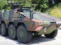 German Army Boxer armored vehicle