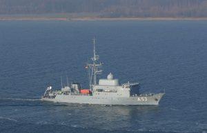 Oste-class fleet service ship Oker