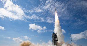 Minotaur I rocket with NRO payload