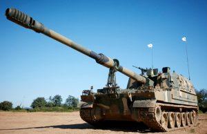 K9 self-propelled howitzer