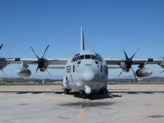 KC-130J with Harvest Hawk