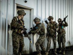 Saab live training system for USMC