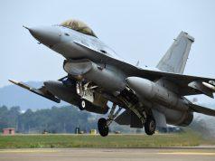 South Korean KF-16 takeoff