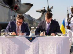 UK-Ukraine naval capabilities development agreement