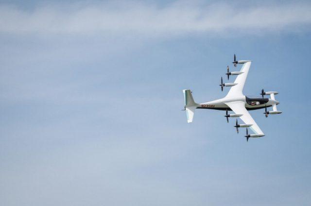 Kitty Hawk Heaviside eVTOL aircraft