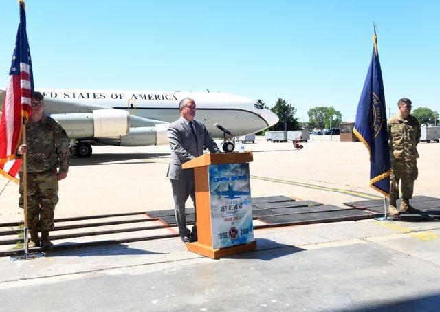 Final OC-135 retirement