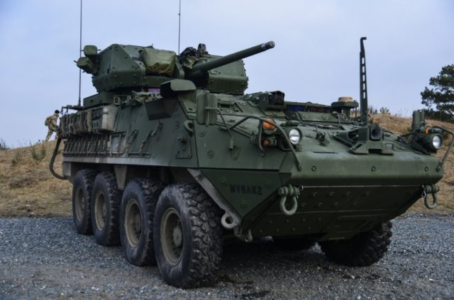 Stryker Infantry Carrier Vehicle-Dragoon