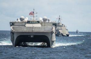 USNS Millinocket in South China Sea