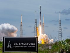 SpaceX GPS III satellite launch for US Space Force
