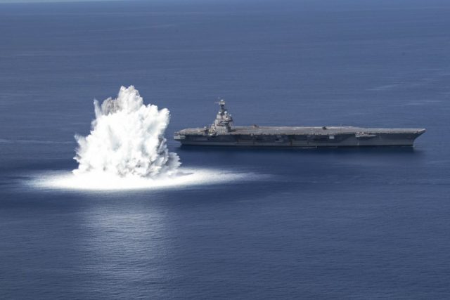 Ford-class full ship shock trials