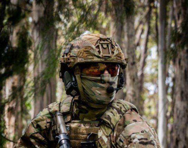 Australian combat helmet upgrade