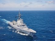 HMAS Sydney off New South Wales