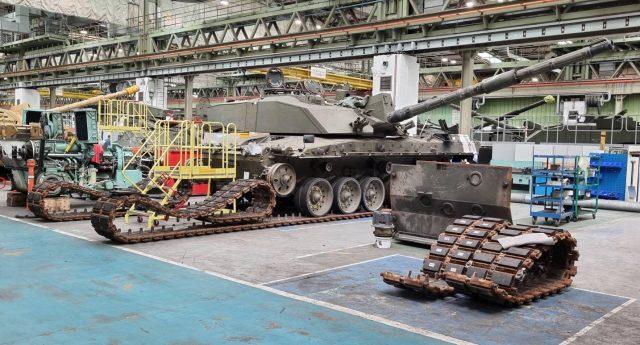 Challenger 2 MBT overhaul