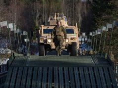 New British Army medium girder bridge