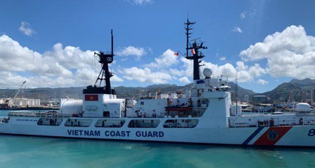 Vietnam Coast Guard ship CSB-8021