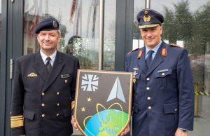 German Space command emblem