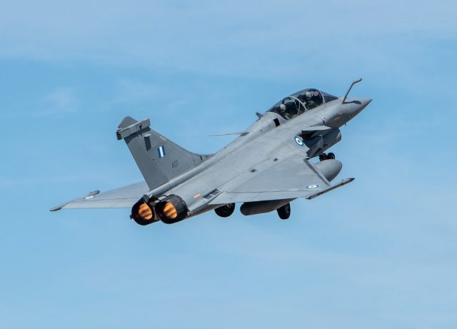 Hellenic Air Force Rafale fighter
