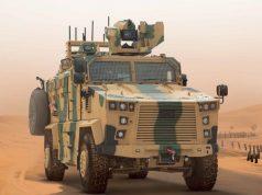 Vuran Kirpi armored vehicle built by BMC