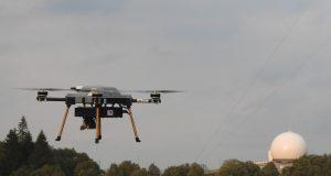 Ballistic missile emulating drone