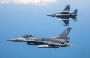 Romanian F-16 during Black Sea ADEX