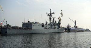 PGZ Naval Shipyard) facilities in Gdynia