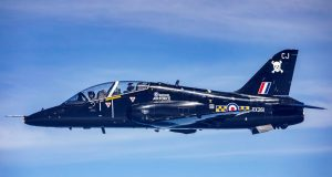 Royal Air Force Hawk T1 out of service date