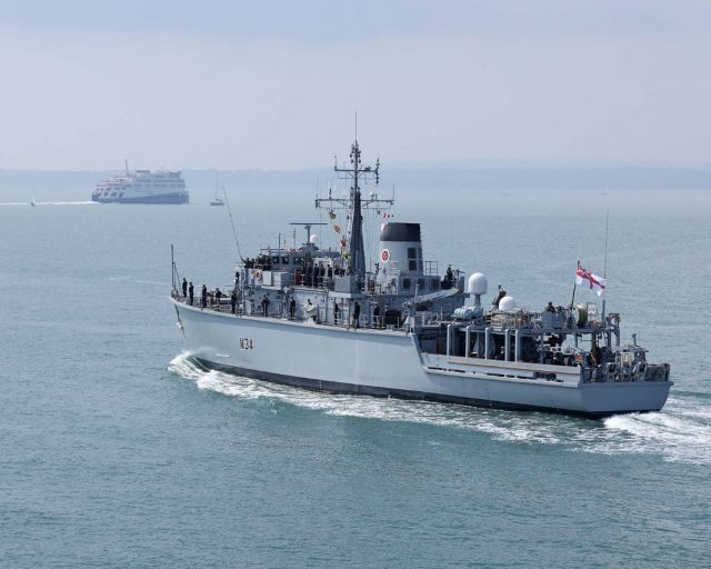 HMS Middleton Hunt-class