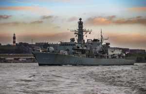 HMS Monmouth decommissioning