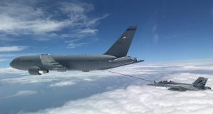 KC-46 Pegasus limited refueling operations