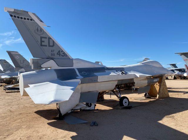 F-16 digital twin