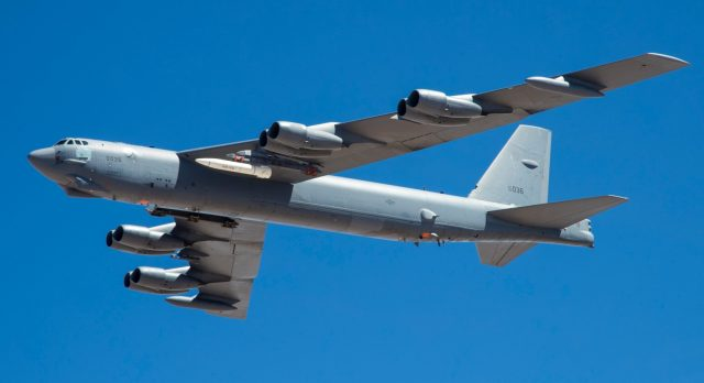 AGM-183A ARRW captive carry flight