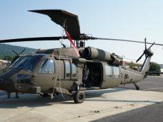 Uh-60V Black Hawk helicopter