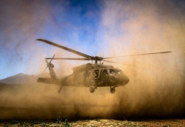 Arizona Army National Guard UH-60 Black Hawk helicopter