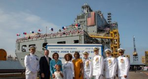 USNS John Lewis christening