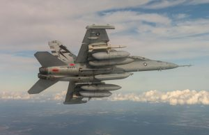 EA-18G Growler with NGJ-MB