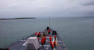 USS Roosevelt in Iceland