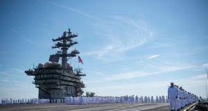USS Dwight D. Eisenhower crew