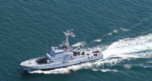 Ex-USCG Island-class boat in Ukrainian Navy service