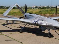 Ukrainian Navy Bayraktar TB2 armed UAV